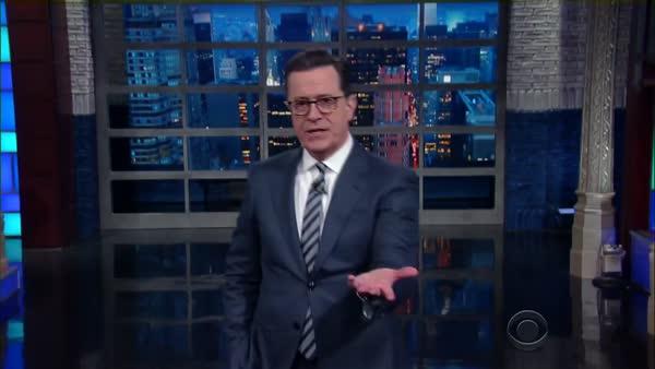 photo image Comedic Brilliance: Colbert Explains Trump's Russia Problem