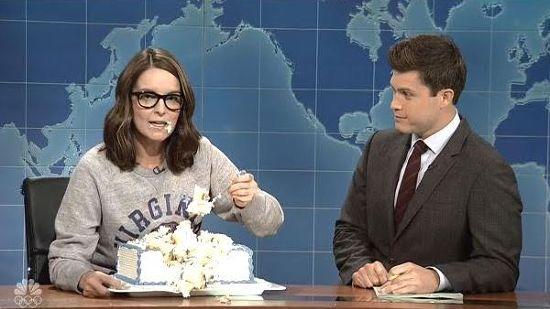 crooksandliars.com - Karoli Kuns - Tina Fey Slams Charlottesville Demonstrators On SNL Weekend Update: 'Nazis Are Always Bad!'