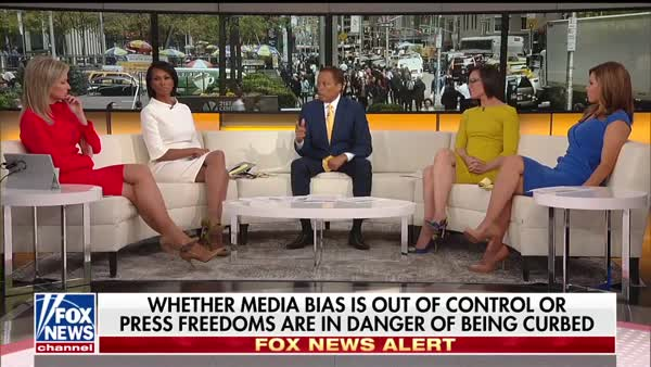 photo image Fox's Outnumbered Backs Up Trump On Government Control Of News