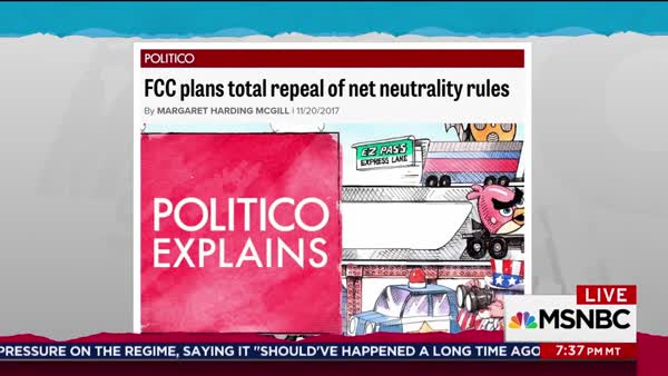twitter confirms maddow s prediction ending net neutrality is a