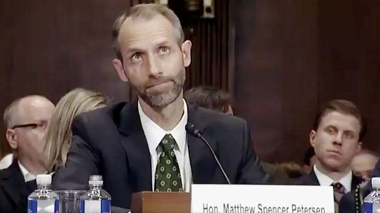 Image result for trump judicial nominee knows nothing