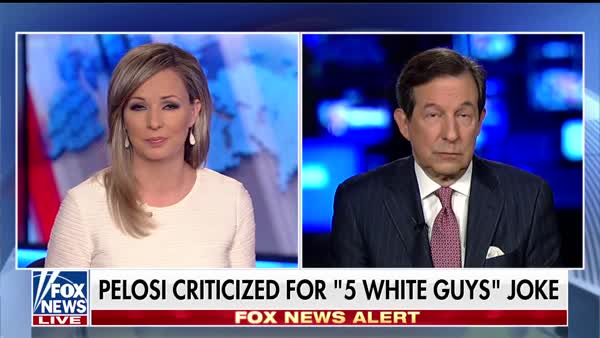 photo image Chris Wallace: Pelosi's '5 White Guys' Comment Is 'Merely A Parking Ticket' Compared To Trump's Shithole