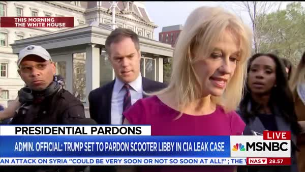 Kellyanne Conway: U0027Many People Think Scooter Libby Was A Victim Of A  Special Counsel Gone Amoku0027