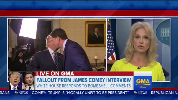kellyanne conway admits comey won election for trump crooks and liars
