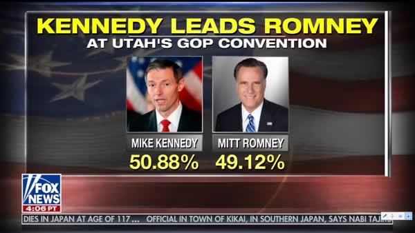 Mitt Romney Fails To Win GOP Nomination For U.S. Senate