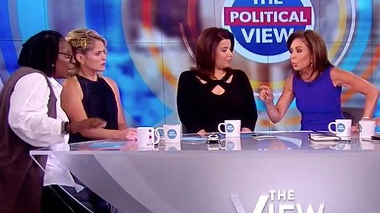 Whoopi Goldberg Ejects Jeanine Pirro From The View
