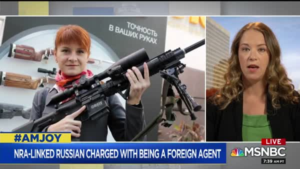 NRA And Russians Have Been Colluding For Years