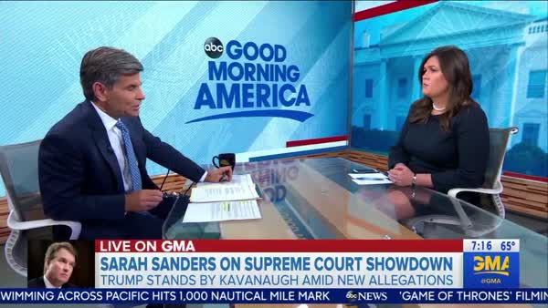 George Stephanopoulos: [Trump] Consistently, Every Single Time Takes The Side Of The Man