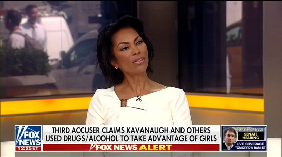 Harris Faulkner Gives Kavanaugh Advice On How To 'Clear His Name' | Crooks and Liars