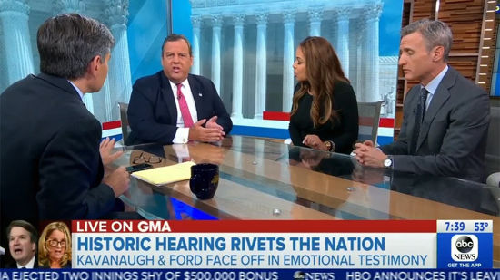 Good Morning America Panel Gets Nasty As Christie And Hostin Clash