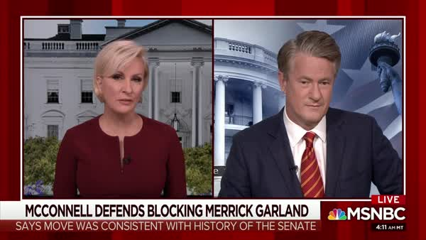 Joe And Mika Ridicule Mitch McConnell, Compare Him To A Used Car Salesman
