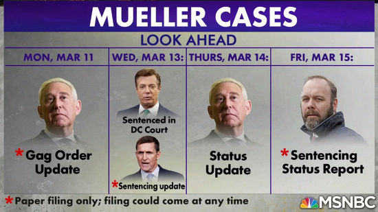 Your Week Ahead: Manafort, Gates, Flynn, And Stone