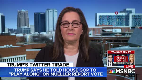 MSNBC Panel Asks: Is Mueller Report Imminent, Or Is Trump Just Cranky?