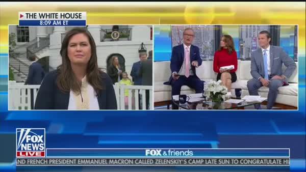 Sarah Sanders Is Not Press Secretary, She's A Fox News Shill