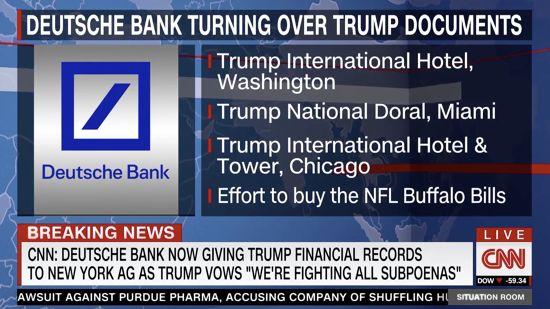 Deutsche Bank Has Begun Handing Over Trump Financial Records To NY AG
