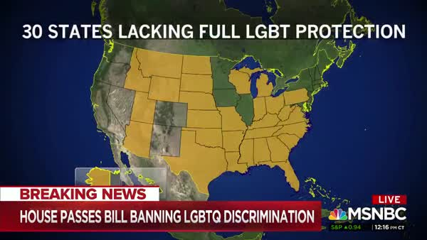 Democratic House Passes Equality Bill For LGBTQ People