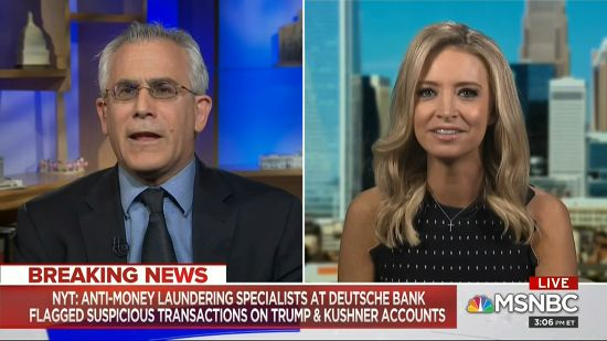 David Corn Has Had Quite Enough Of Kayleigh McEnany