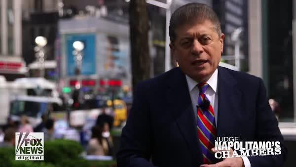 Judge Napolitano Sounds Alarm Over Eroding Separation Of Powers