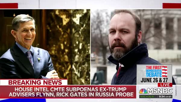 House Intelligence Committee Subpoenas Mike Flynn And Rick Gates