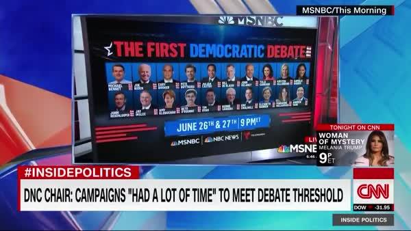 Democratic Debate Schedule Announced