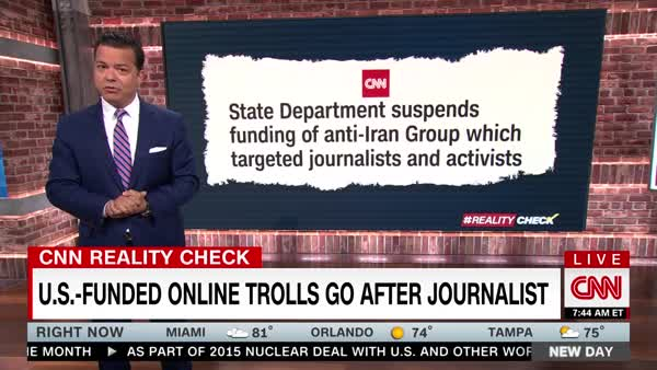 State Department Funded Trolls To Attack Journalists Against Iran War