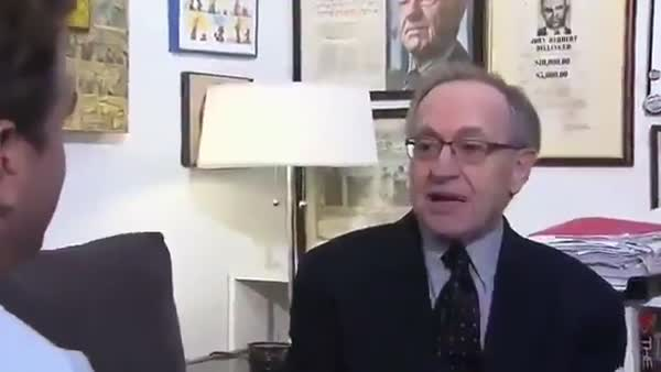 Dershowitz: 'I Kept My Underwear On' During Massage At Epstein's Mansion