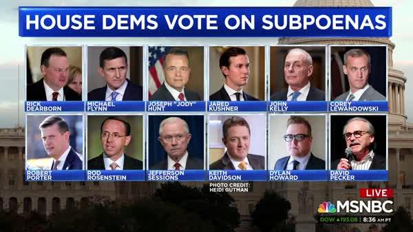 Cover-Up: House Oversight Subpoenas 'The Dirty Dozen'