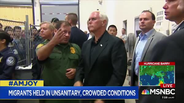 Joy Reid Zooms In On Why Mike Pence Only Wants Us To See Men In Cages