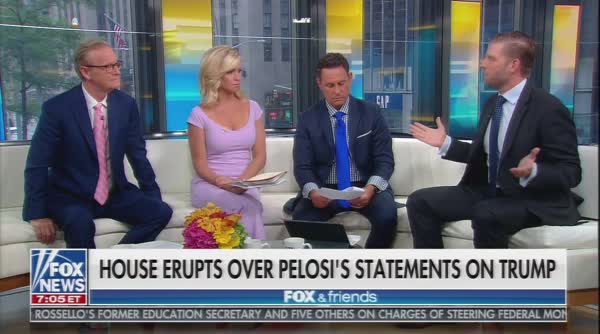 Eric Trump Rants: '95% Of Country Is Behind My Dad!'
