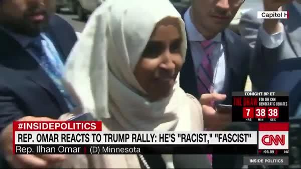 Ilhan Omar Calls A Fascist, A Fascist