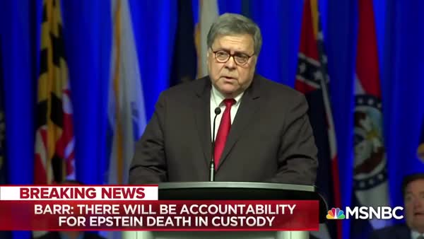 No One Trusts Bill Barr On Epstein Case