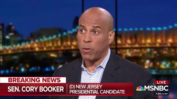 Cory Booker On Guns In America: 'A Society That Has Surrendered Basic Freedoms'