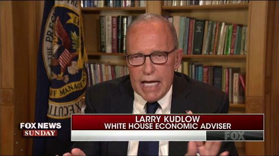 Larry Kudlow Mumbles That Trump Does Still Want To Buy Greenland