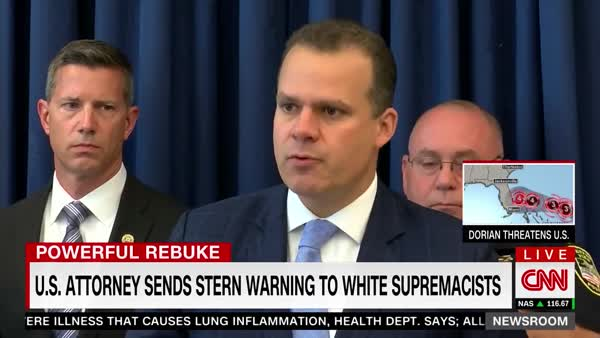 US Attorney Cuts Neo-Nazis Down To Size With Brutal Press Conference Remarks