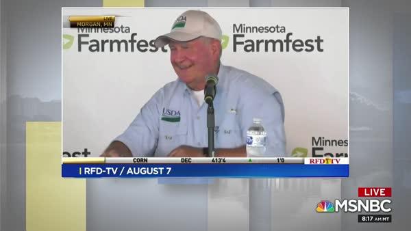 Sec Of Agriculture Sonny Perdue Mocks Farmers' Pain