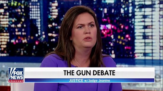 Huckabee Sanders: Mass Shootings Due To 'Becoming A Culture That No Longer Values Life'