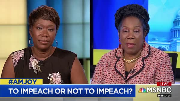 Rep. Jackson Lee: Impeachment Inquiry Is Moving Forward