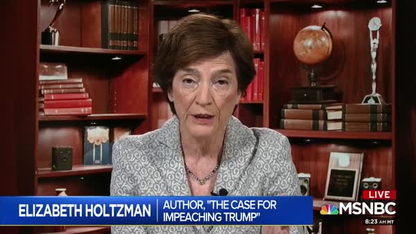 Joy Reid Talks Semantics And Substance Of Impeachment With Elizabeth Holtzman