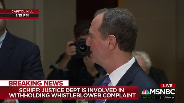 Rep. Adam Schiff: 'This Goes Beyond This President'