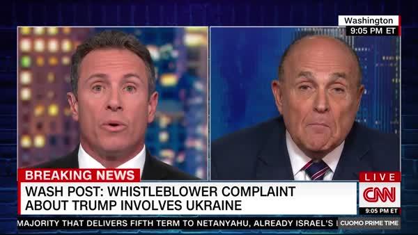 Rudy Giuliani Admits He Went To Ukraine To Dig Up Dirt On Biden