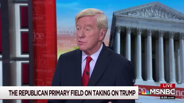 Weld Calls For Trump To Be Tried For Treason And Face The Death Penalty