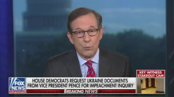 Chris Wallace Knows How Bad Volker's Testimony Is For The White House