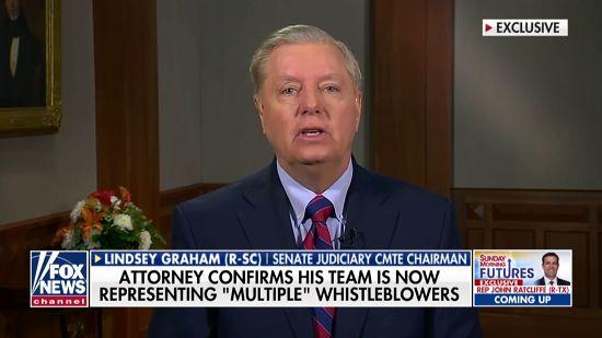 Lindsey Graham Threatens To Expose Whistleblowers If Democrats Impeach Trump