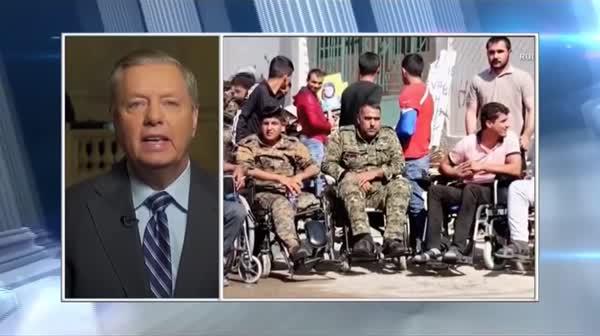 Lindsey Graham Promises Pat Robertson He Will Become 'Trump's Worst Nightmare'