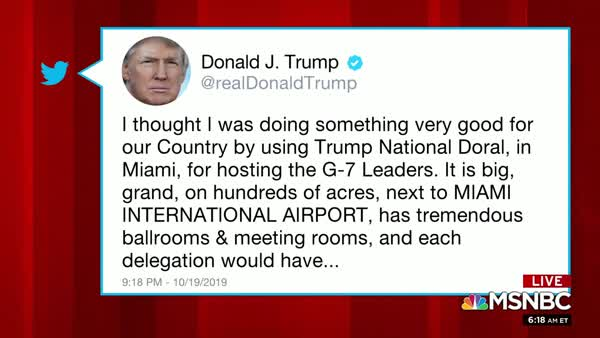 Mika Goes There: She Mentions The Bedbugs At Trump's Doral Resort