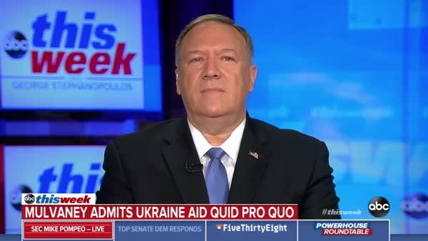 Mike Pompeo Breaks Out In A Cold Sweat