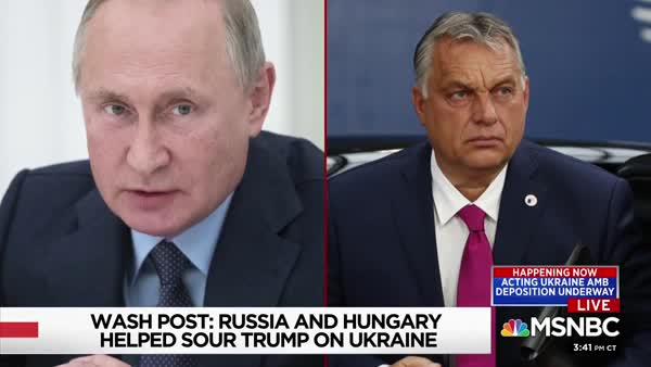 Putin Worked With Hungary's Orbán To Influence Trump On Ukraine