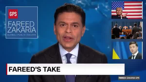 Ukrainian President Zelensky Was Going To Announce Biden Investigation On Fareed Zakaria GPS
