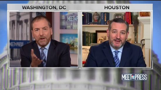 Ted Cruz Serves Ukraine Kool-Aid Even Chuck Todd Won't Drink