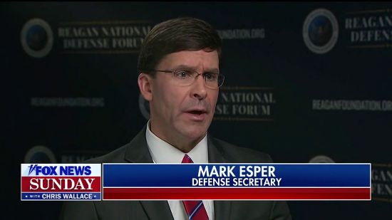 Defense Sec. Esper Stonewalls Chris Wallace About His Defiance Of Congress